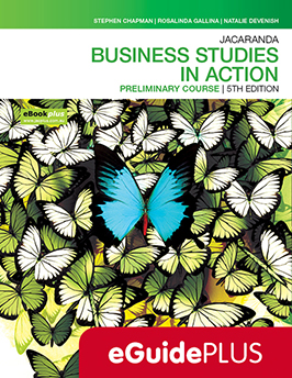 Business Studies in Action Preliminary Course 5e eGuidePLUS