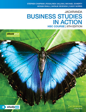 Business Studies in Action NSW Stage 6 HSC course 6th Edition