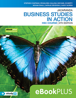 Business Studies in Action HSC Course 6e eBookPLUS