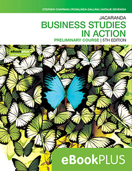 Business Studies in Action Preliminary Course 5e eBookPLUS
