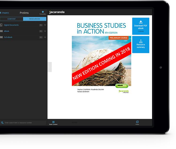 Business Studies eBookPLUS