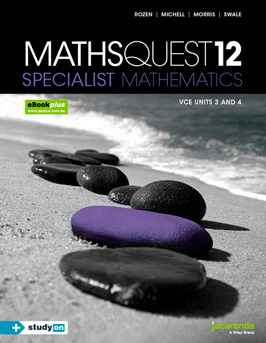Jacaranda maths quest 12 specialist mathematics VCE units 3 and 4