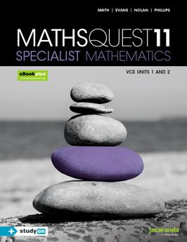 Jacaranda maths quest specialist mathematics 11 VCE units 1 and