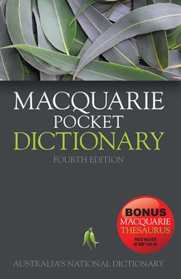 Macquire Pocket Dictionary