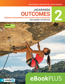Jacaranda Outcomes 2 PDHPE HSC Course 6th Edition eBookPLUS