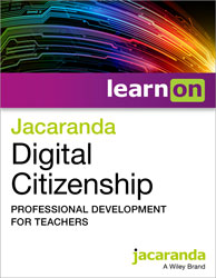 Jacaranda Digital Citizenship COVER