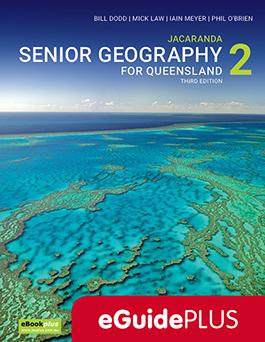 Jacaranda Senior Geography for Queensland 2 eGuidePLUS