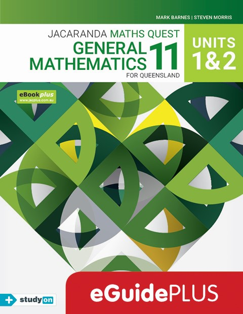 Maths Quest 11 General Mathematics Units 1 2 eGuidePLUS