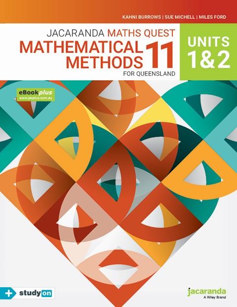 Jacaranda Maths Quest Mathematical Methods 11 For Queensland Units 1 & 2