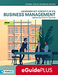 Key Concepts in VCE Business Management Units 3&4 5e eGuidePLUS