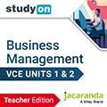 studyON Business Management VCE Units 1&2 Teacher Edition