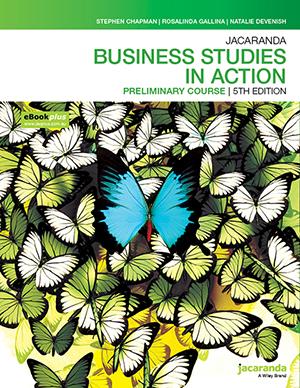 Jacaranda Business Studies In Action NSW Preliminary Course 5e