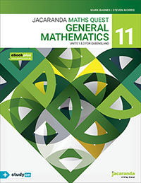 Jacaranda Maths Quest 11 General Mathematics Units 1&2 QLD eBookPLUS & Print
