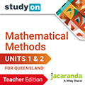 studyON Mathematical Methods Units 1&2 QLD Teacher Edition