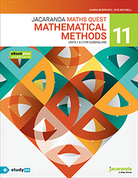 Jacaranda Maths Quest 11 Mathematical Methods Units 1&2 QLD eBookPLUS & Print