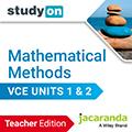 studyON Mathematical Methods VCE Units 1&2 Teacher Edition