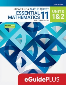 Jacaranda Maths Quest Essential Mathematics 12 For Queensland Units 1 & 2