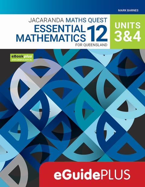 Jacaranda Maths Quest Essential Mathematics 12 For Queensland Units 3 & 4