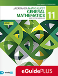 Jacaranda Maths Quest 11 General Mathematics Units 1&2 QLD eGuidePLUS