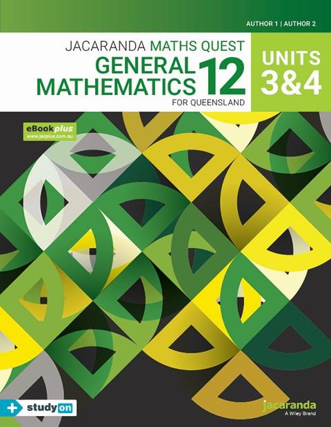 Jacaranda Maths Quest General Mathematics 11 For Queensland Units 3 & 4