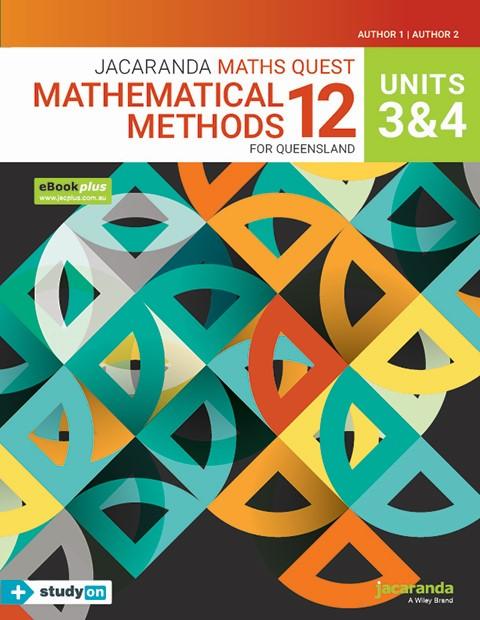 Jacaranda Maths Quest Mathematical Methods 11 For Queensland Units 3 & 4