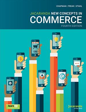 Jacaranda New Concepts in Commerce 4e NSW