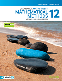 Jacaranda Maths Quest 12 Mathematical Methods VCE Units 3&4 2e