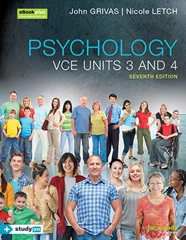 Jacaranda psychology VCE units 3 and 4 sixth edition