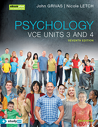 Psychology VCE Units 3&4 7e eBookPLUS & Print