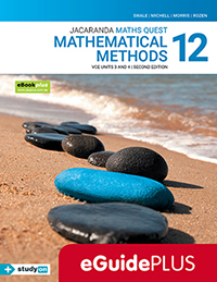 Maths Quest 12 Mathematical Methods VCE Units 3&4 2e eGuidePLUS
