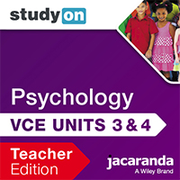 studyON Psychology VCE Units 3&4 7e Teacher Edition