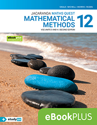 Maths Quest 12 Mathematical Methods VCE Units 3&4 2e eBookPLUS