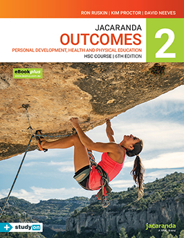 Jacaranda Outcomes 2 PDHPE HSC Course 6th Edition eBookPLUS & Print + studyON