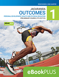 Outcomes PDHPE Preliminary Course 5e