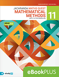 Jacaranda Maths Quest 11 Mathematical Methods Units 1&2 QLD eBookPLUS