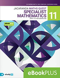 Jacaranda Maths Quest 11 Specialist Mathematics Units 1&2 QLD eBookPLUS