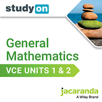 studyON General Mathematics VCE Units 1&2