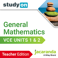 studyON General Mathematics VCE Units 1&2 Teacher Edition