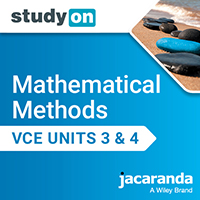 studyON Mathematical Methods VCE Units 3&4