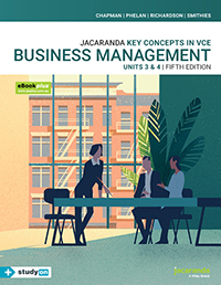 Key Concepts in VCE Business Management Units 3&4 5e eBookPLUS & Print