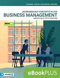 Key Concepts in VCE Business Management Units 3&4 5e eBookPLUS