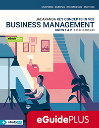 Key Concepts in VCE Business Management Units 1&2 5e eGuidePLUS
