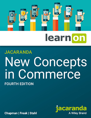 New Concepts in Commerce 4e learnON