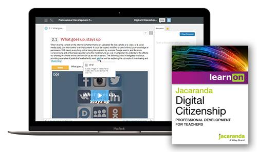 Digital Citizenship laptop cover