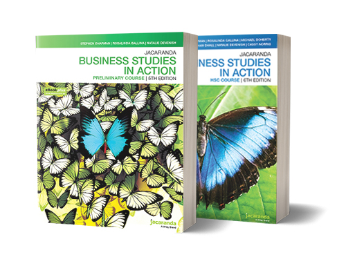 Business Studies in Action Preliminary Course 5th & 4th Edition