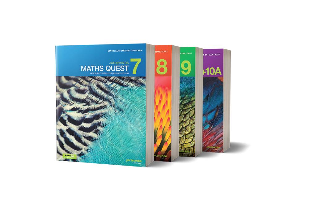 Maths Quest 7, 8, 9, 10 VC Books