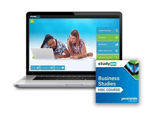 Business Studies HSC Course studyON