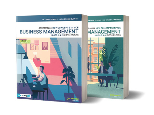 Key Concepts in VCE Business Management Units 1 and 2 & 3 and 4 Textbook