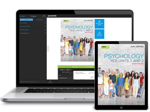 Psychology VCE Units 1 & 2 eBookPLUS
