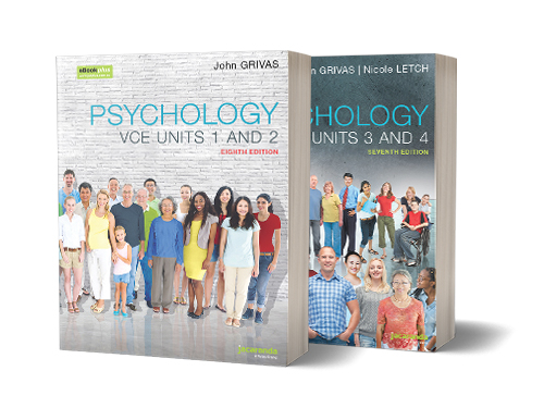 Psychology VCE Units 1 and 2 & 3 and 4 Textbook